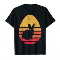 Retro Easter Bunny Rabbit Egg Birthday Vintage T-Shirt Gift