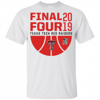 Texas Tech Final Four 2019 Basketball Red Raiders Youth Kids T-Shirt