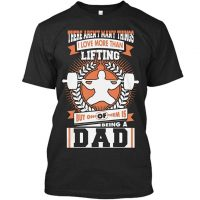 Gym Tshirt Im A Lifting Dad Gym Fitness Tshirt For Men