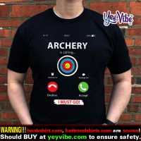 Archery funny bow hunter or archers shirts