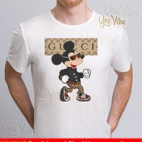 Mickey Mouse Gucci stylish fashionable t shirts