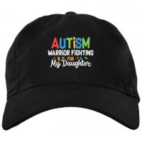 Autism Warrior Fighting For My Daughter Twill Cap  High-Profile Snapback Hat