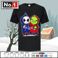 Baby Jack Skellington and Baby Grinch New England Patriots shirt Unisex