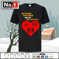 Network engineer behind the office shirt Unisex