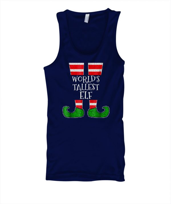 THE WORLDS TALLEST ELF T Shirt Funny