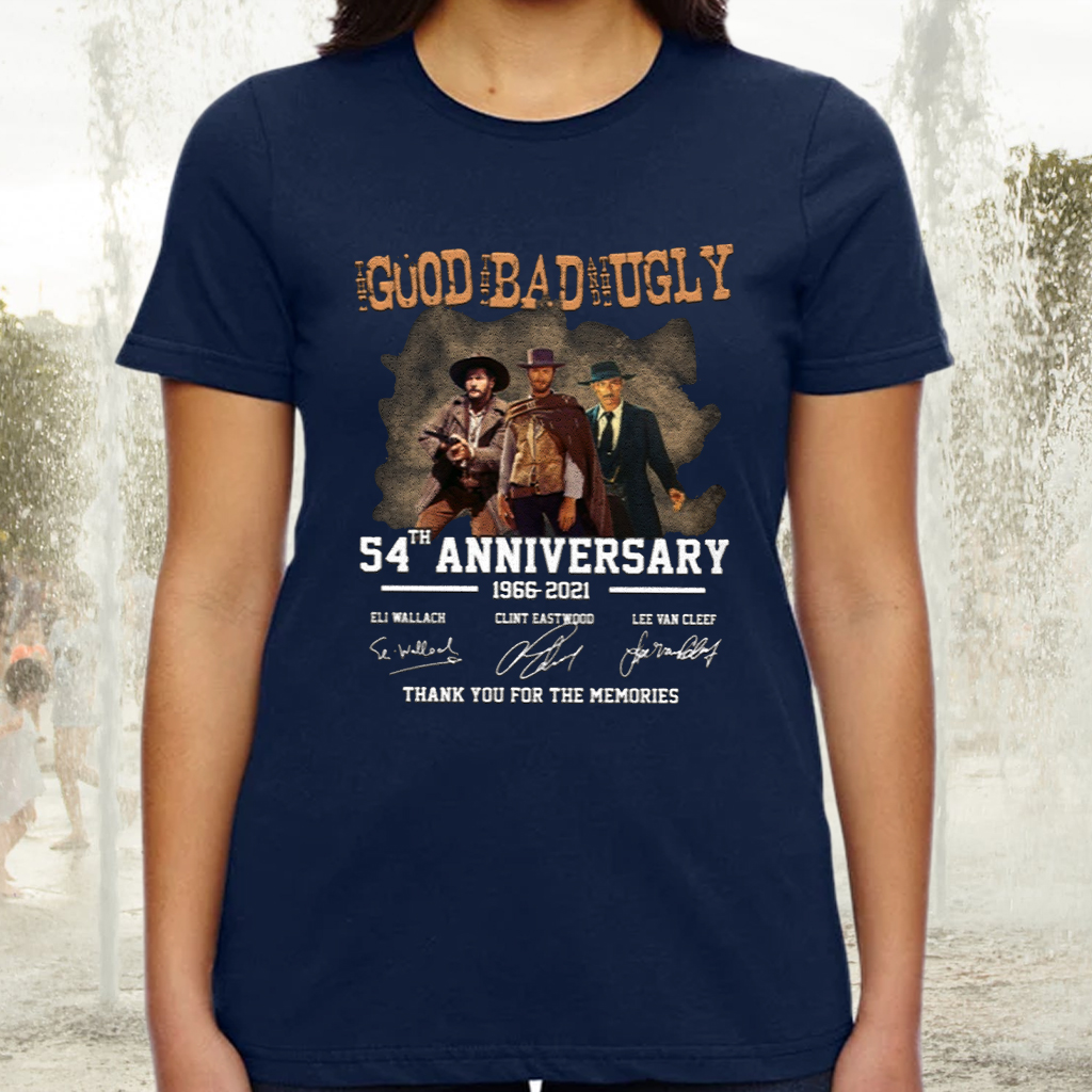 The Good The Bad The Ugly 55th Anniversary Thank You For The Memories Shirt